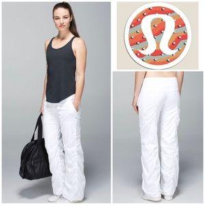 Lululemon Lined Studio Pants in White
